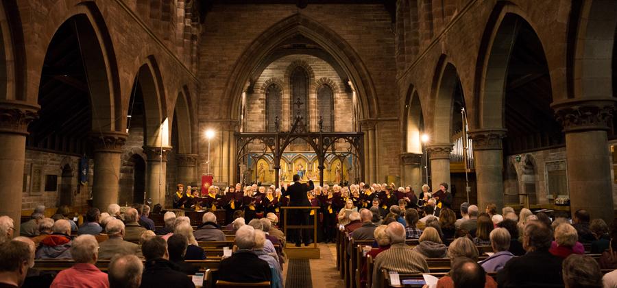 Spring Concert 2018 St John's Church, Dumfries ©SamFinch